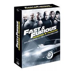 Pack Fast & Furious 1-8 + Hobbs & Shaw (dvd) - DVD