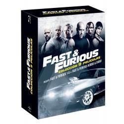 Pack Fast & Furious 1-8 + Hobbs & Shaw (blu-ray) - BD