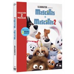 Pack Mascotas 1+2 (dvd) - DVD