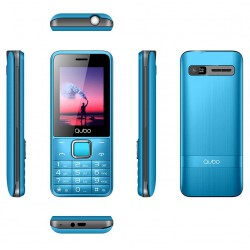 Teléfono Qubo X229 Rojo
