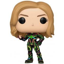 Funko Pop Captain Marvel Neon Suit