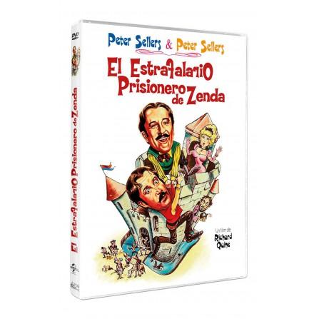 El estrafalario prisionero de Zenda - DVD