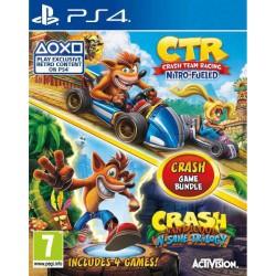 Crash Team Racin Nitro Fueled + N-Sane Trilogy - PS4