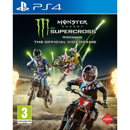Monster Energy Supercross 3 - The Official Videogame - PS4