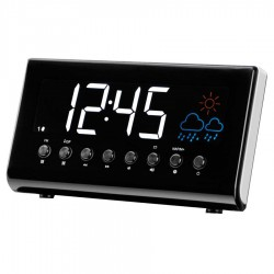 Radio Reloj Digital Denver CR-718