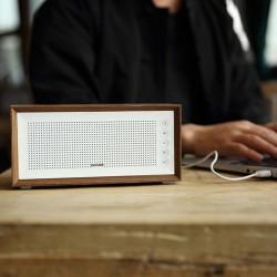 Altavoz Bluetooth portátil BTS-210NR Blanco