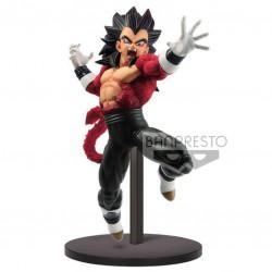 Figura Super Saiyan 4 Vegeta Xeno 9th Anniversary Super Dragon Ball Heroes 17cm