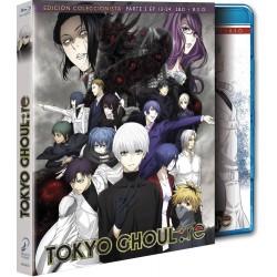 Tokyo ghoul: re episodios 13 a 24 (parte 2) edición coleccionista blu-ray - BD