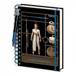 Notebook Star Wars EP9 Espiral Airfix Rey
