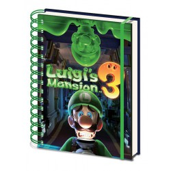 Notebook espiral Luigi's Mansion 3
