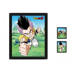 Cuadro 3D Turning Tide of Battle Dragon Ball Z