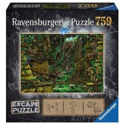 Templo Puzzle Escape 759 piezas