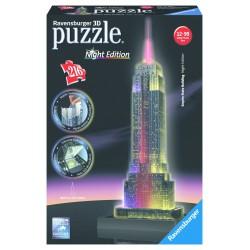 Empire State Building Iluminado Puzzle 216 piezas