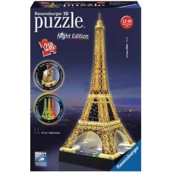 Torre Eiffel Iluminada Puzzle 216 piezas