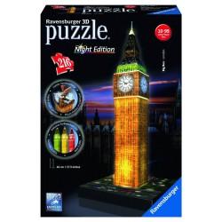 Big Ben Iluminado Puzzle 216 piezas