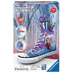 Puzzle 3D Zapatilla-portalápices Frozen 2 108 piezas