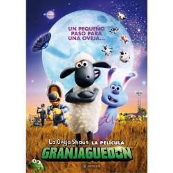 La oveja Shaun. La película: Granjaguedón - DVD