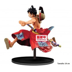 Figura One Piece Monkey d. Luffy Battle Record Collection