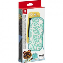 Funda + Protector LCD Nintendo Switch Lite Edicion Animal Crossing New Horizons - SWI