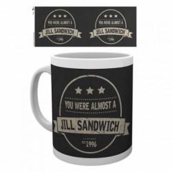 Taza 315ml Resident Evil Jill Sandwich