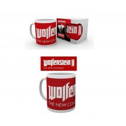 Taza 315ml Wolfenstein 2 Logo