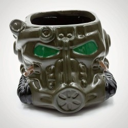Taza 3D 500ml Fallout Power Amor