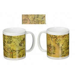 Taza 315ml The Lord of the Rings Middle Earth