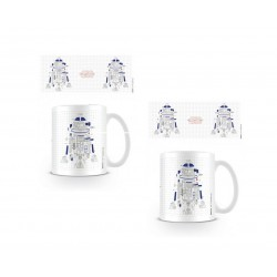 Taza 315ml Star Wars The Last Jedi R2D2 Explode
