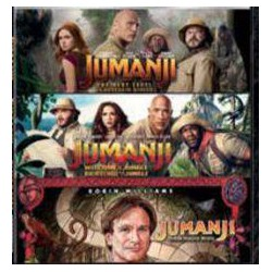 Jumanji: (Pack 1-3) - DVD