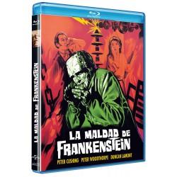La maldad de Frankenstein - BD