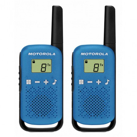Walkie Pack de 2Uds Motorola Talkabout T42 Azul