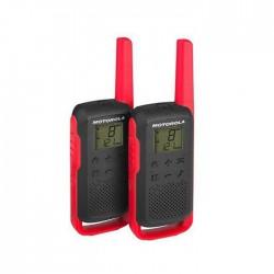 Walkie pack de 2 Uds Motorola Talkabout T62 Go Discover Rojo