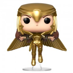 Funko Pop DC Wonder Woman 1984 Gold Flying Pose