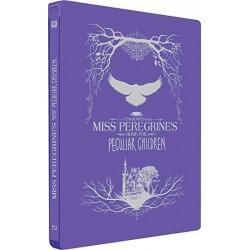 El hogar de miss peregrine para niÑos peculiares steelbook 2019  - BD