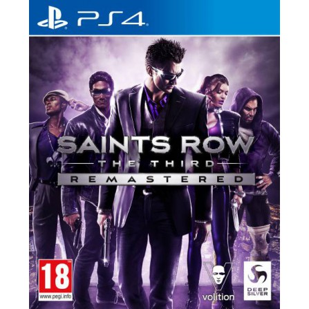 Saint Row The Third Remastered - PS4