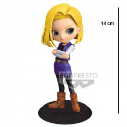 Figura DragonBall Z Q Posket Android 18 (A)