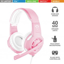 Auricular GXT310p Radius Pink - PC