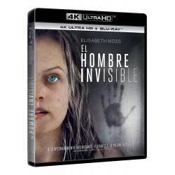 El hombre invisible (4k uhd + bd)