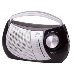 Radio Portátil RA 764 AM/FM Negro