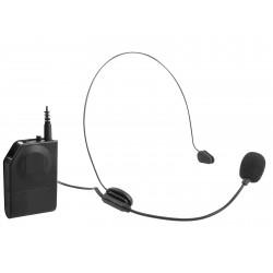 Microfono inalámbrico EM 408 R Clip Negro