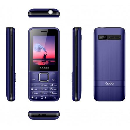 Teléfono Qubo X229 Azul Oscuro