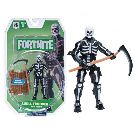 Figura Fortnite 10 cm Skull Trooper Solo Mode