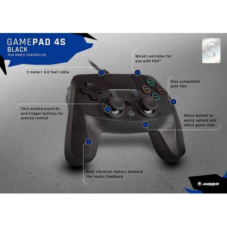 Game:pad 4s negro - PS4