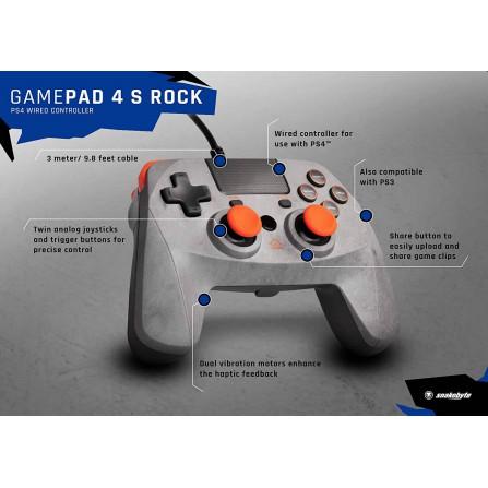 Game:pad 4s naranja - PS4