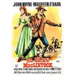 El gran mclintock (1963) (poster clasico) - DVD