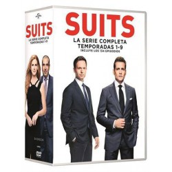 Tv suits (temporadas 1-9) (serie completa) - DVD