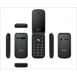 Telefono Qubo B-209 Negro (SOS y Base)