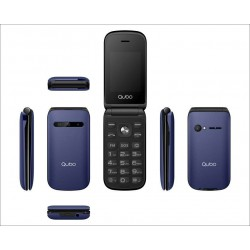 Telefono Qubo B-209 Azul (SOS y Base)