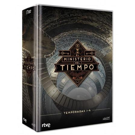 El ministerio del tiempo (Pack T1 a T4) - DVD