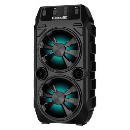 Altavoz portátil Bluetooth ET-PSK250 BK 5W x 2